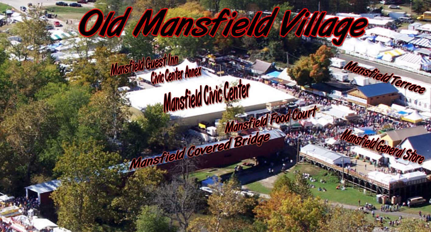 Covered Bridge Festival Indiana Map.Mansfield Terrace